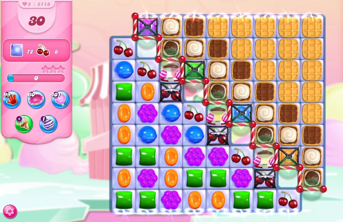 Candy Crush Saga level 5118