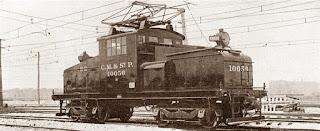 Una de las primeras locomotoras eléctricas de la historia
