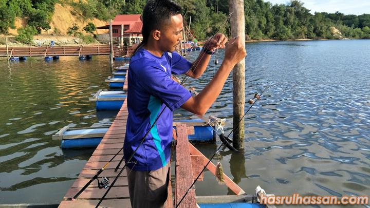 Hasil Memancing Chalet Nelayan Tiga, Damai Laut