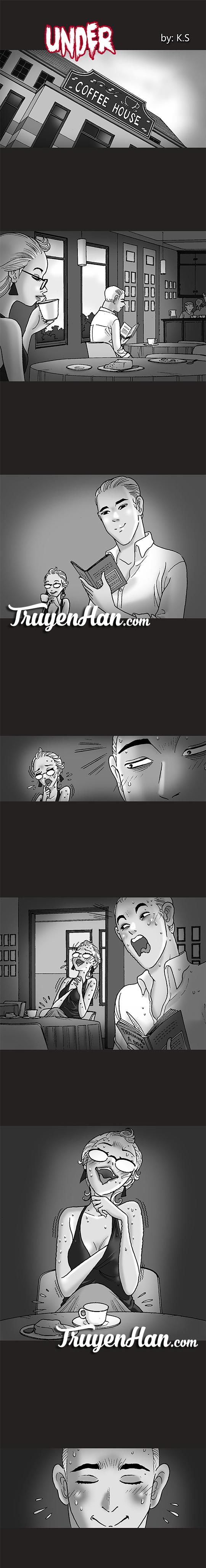Silent Horror chap 173: Under - Dưới khăn trải bàn