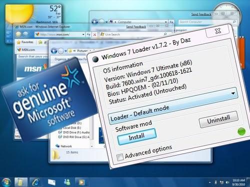 برنامج كراك ويندوز 7 ultimate