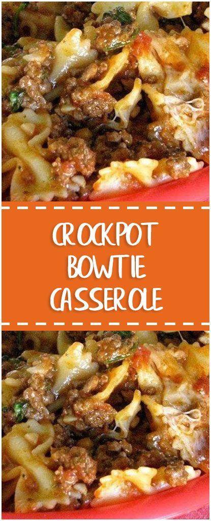 Crockpot Bowtie Casserole Recipe