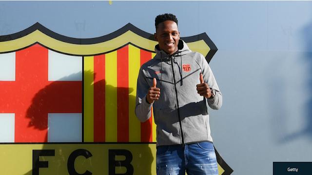 Update Transfer Januari : Yerry Mina Mendarat di Camp Nou