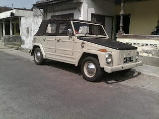 LAPAK MOBIL KLASIK : VW Safari 73 Dijual Muyah