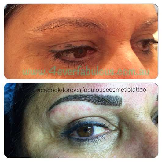 Some Recent Eyebrow Tattoos and a little information about them!