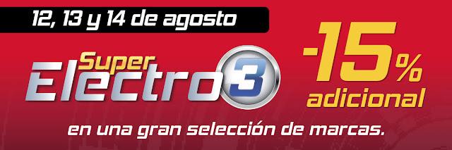 Top 15 ofertas Super Electro 3 (II) de El Corte Inglés agosto 2019