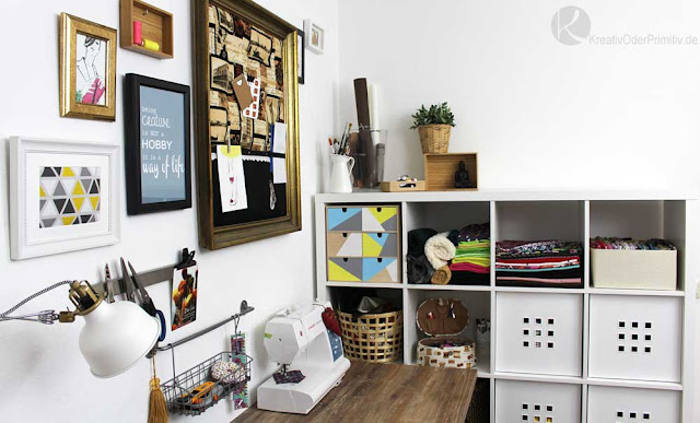 kreativ oder primitiv sewing secrets n hzimmer. Black Bedroom Furniture Sets. Home Design Ideas