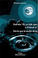 Áak'abe' ku ya' alik táan u k'aáxal ja' Lluvia que la noche dicta