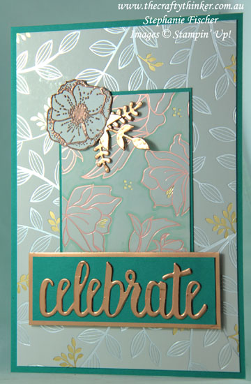 #thecraftythinker, #saleabration, #cardmaking, #stampinup, Sale-A-Bration, Amazing You, Celebrate You, Stampin' Up! Australia Demonstrator, Stephanie Fischer, Sydney NSW