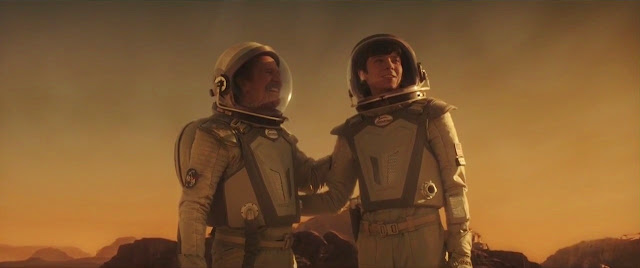 The Space Between Us Mars movie image - astronauts