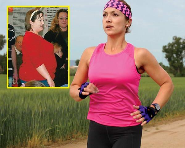 Giảm hơn 60 kg nhờ chạy bộ kết hợp với ăn kiêng