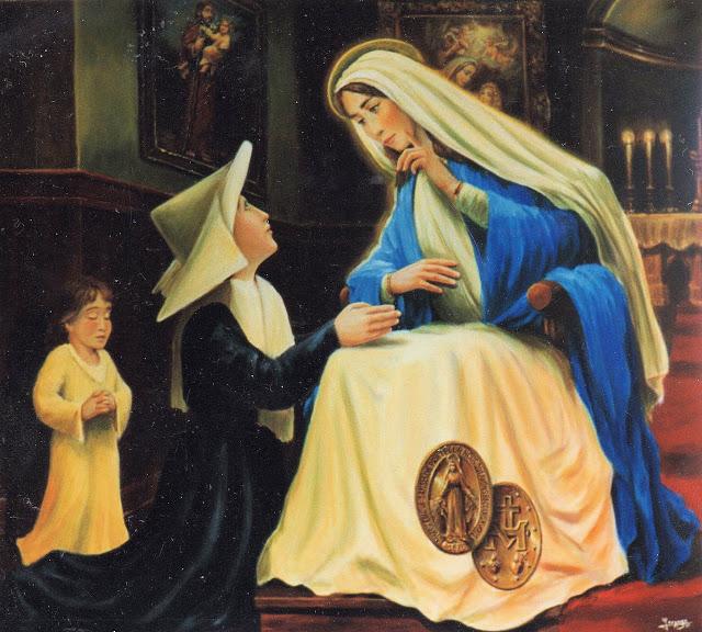 c63c99dc2ea El 1830 es un año clave  tiene lugar en París la primera aparición moderna  de la Virgen Santísima. Comienza lo que Pío XII llamó la