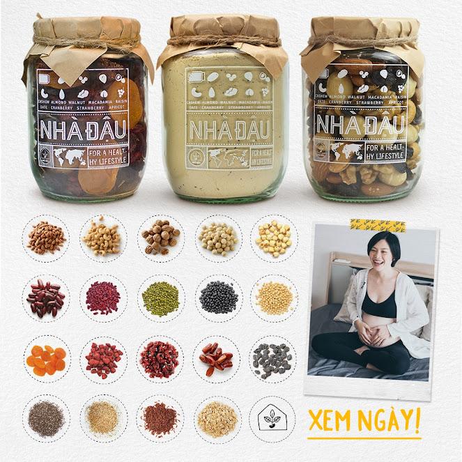 Cải thiện dinh dưỡng cho Mẹ Bầu nhờ ăn Mixnuts Nhà Đậu