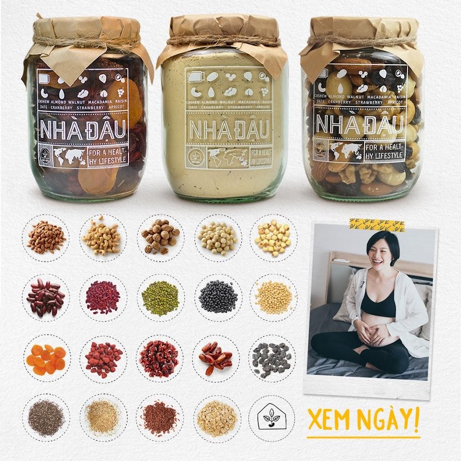 Tích cực ăn hạt dinh dưỡng giúp bổ sung Omega 3 cho Bà Bầu