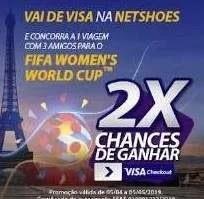 Visa Netshoes Viagem Paris França Copa Feminina