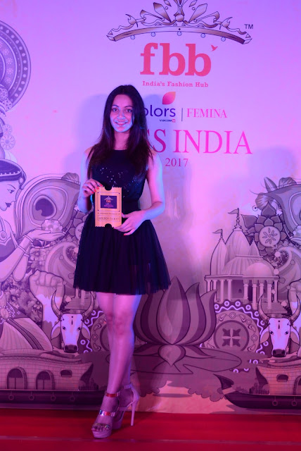Andhra Pradesh scout sits top 3 girls at the fbbColors Femina Miss India 2017