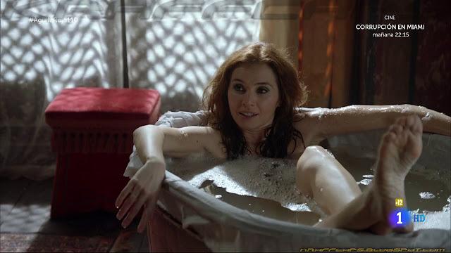 María Pedroviejo desnuda en 'Águila Roja'