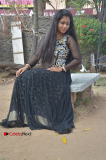 Tamil Actress Shreya Sri Stills in Black Akarkali Dress at Vanga Vanga Team Interview  0021.jpg