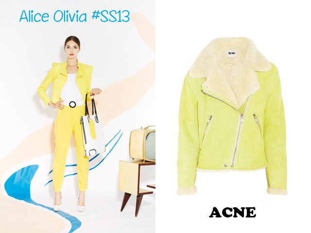 perfecto jaune ACNE