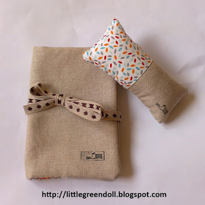 Canvidemans costurero pincushion Zakka Style Minoridesign