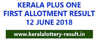 HSCAP kerala, Plus one allotment, HSCAP fist allotment, Plus one admission result 2018