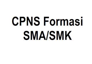 Daftar Instansi yang Membuka Penerimaan CPNS Periode II untuk Formasi SMA dan SMK