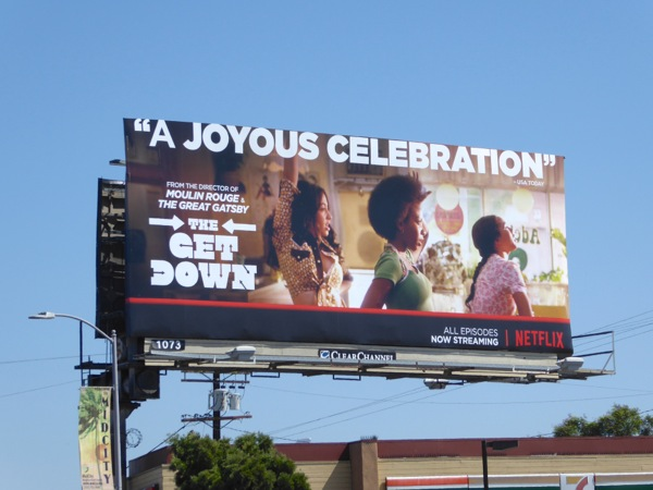 Get Down A joyous celebration billboard