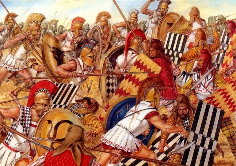 Маратонската битка, увековечена в подвига на един атински атлет - История,  наука, факти и събития