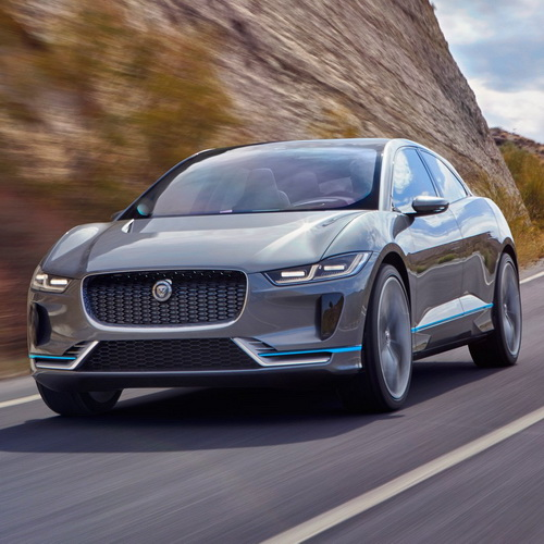 Tinuku Jaguar I-Pace SUV electric-powered ready on 2018, news from Los Angeles Auto Show 2016