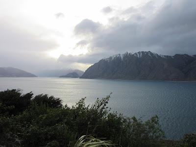 Lago Hawea. Nueva Zelanda