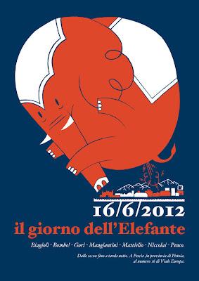 Cartel de elefante