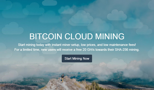 Đào Bitcoin miễn phí 20 Ghs