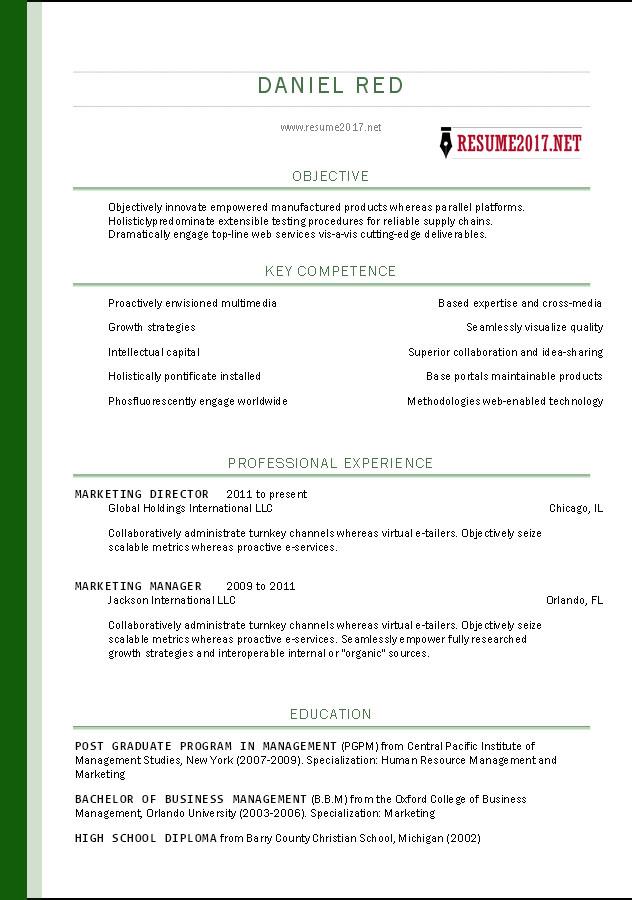 Free Resume Template Designs 2017 - dadakan - editable resume template