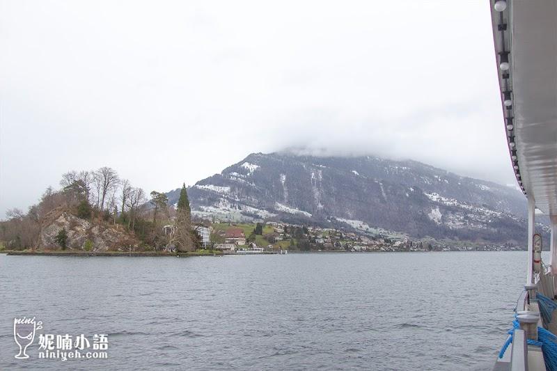 【瑞士旅行通行證】琉森乘船遊湖初體驗。Swiss Travel Pass搭船心得分享