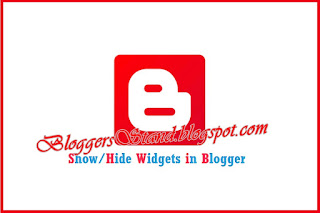 How Show/Hide/Widgets/In/Home/Post/Static/Archive Pages For Blogger
