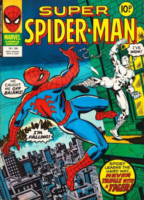 Super Spider-Man #265, the White Tiger