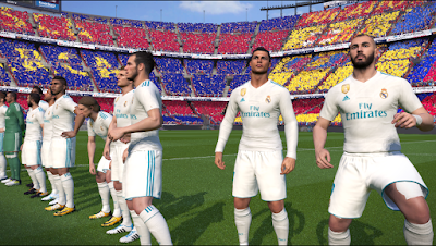 PES 2017 Unofficial PTE Patch 2017 by Fast Eagle Season 2017/2018