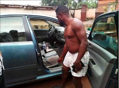 Man Shocked After Finding Strange Item In His Car