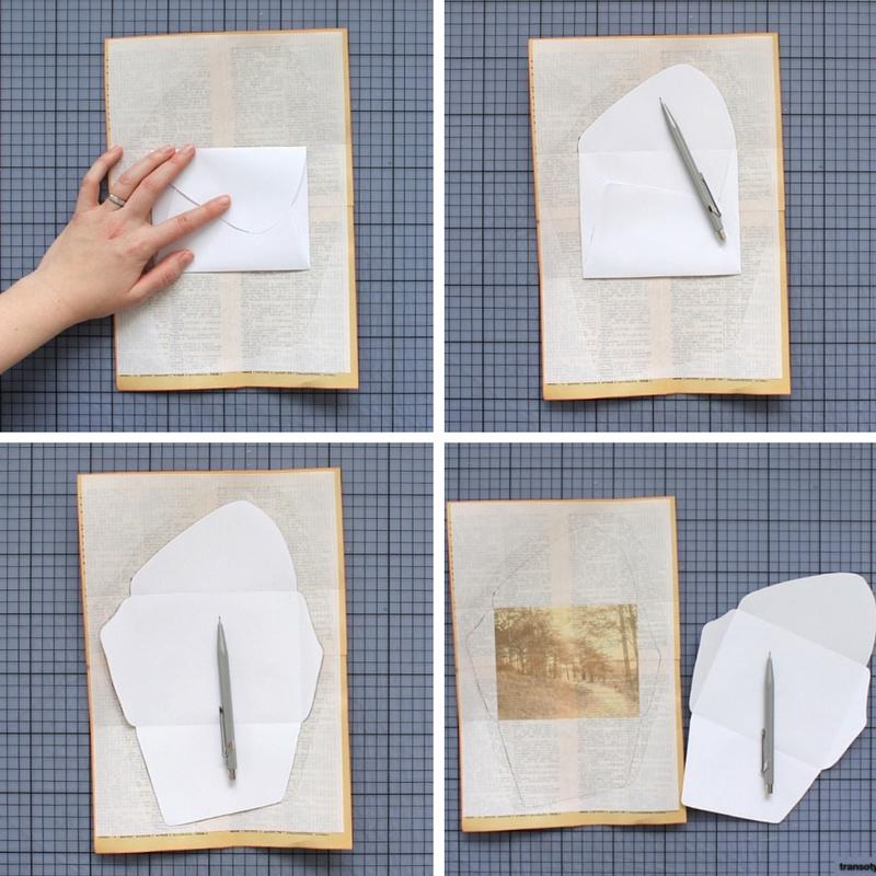 DIYmixed paper envelopespaperiaarre