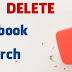 Remove Searches From Facebook