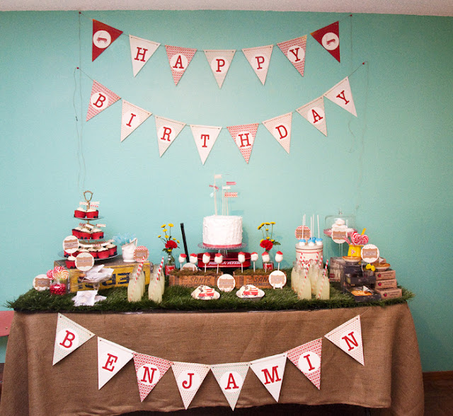 Red Wagon Radio Flyer Birthday Party