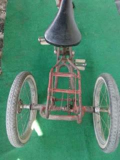 Jual Sepeda Antik Anak Roda 3 Trikel Lawas