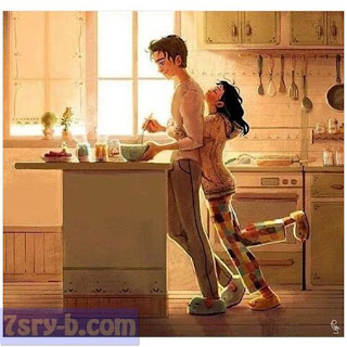 صور حب كرتون , أجمل رسومات حب بنات وشباب ومتزوجين , صور رومانسية رسم