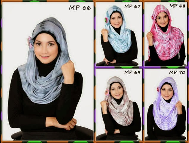 8 Gaya Trend Model Hijab Terbaru 2014