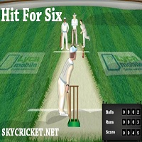Play Hit For Six Cricket game