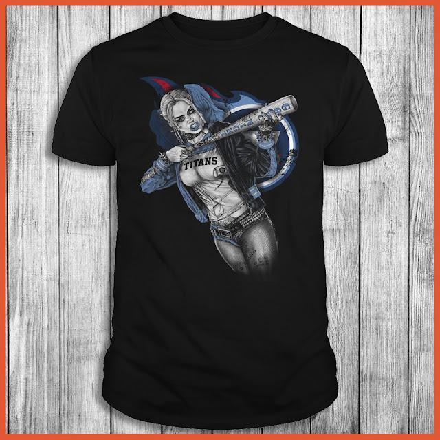 Tennessee Titans Harley Quinn T-Shirt