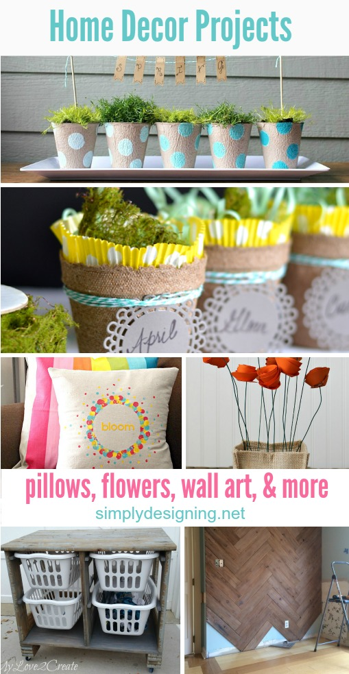 16 Spring Home Decor Projects