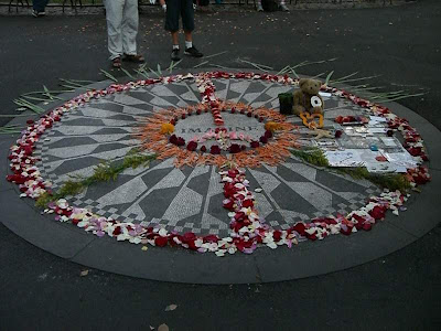 Imagine in Central Park