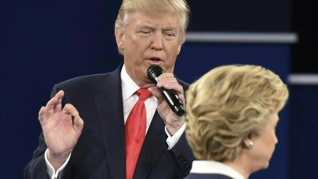 Críticas a Trump por amenazar a Clinton con enviarla a prisión