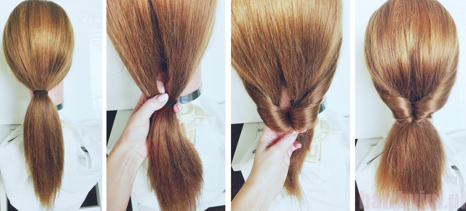 Fryzura W 5 Minut łatwy Koczek Krok Po Kroku Hair By Jul